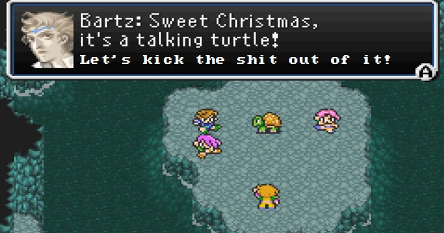 FF5 Talking Turtle